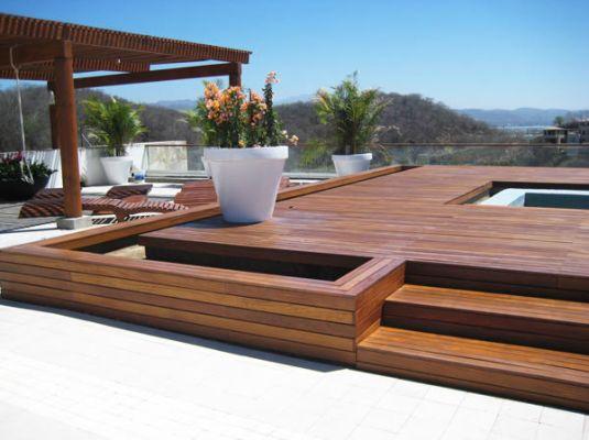 Nouvelle lame de terrasse chez Machot Bois : le Cumaru.