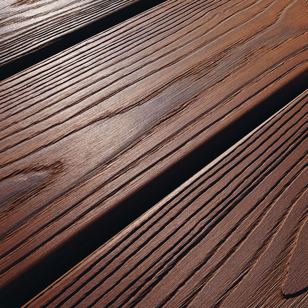 Lame de terrasse en Frêne thermo traité 21×145  Machotbois
